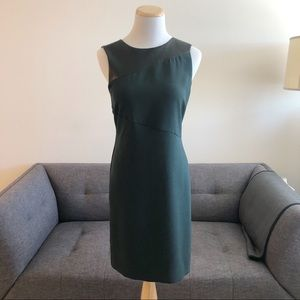 Armani Exchange Green and Black Mini Dress Size 4